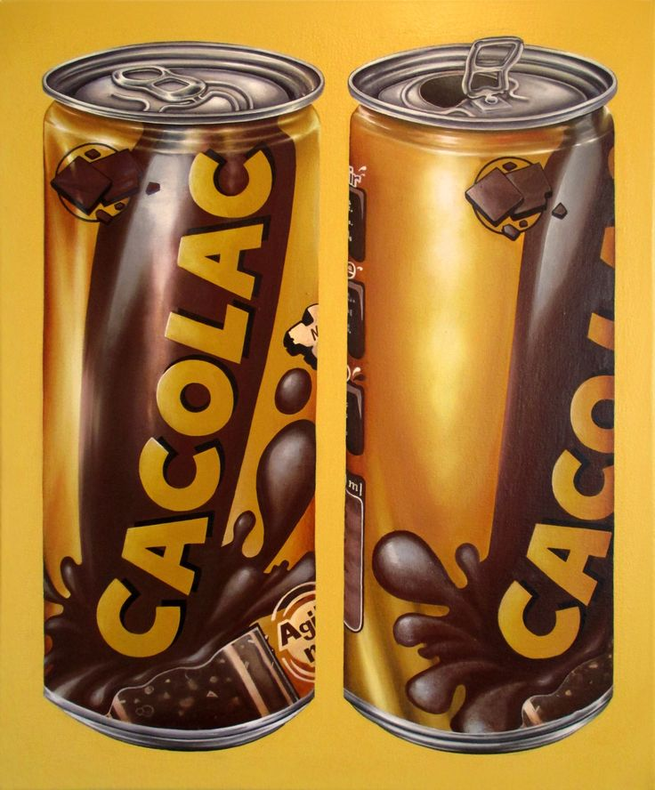 """Cacolac"" (2015) oil on canvas (46x54cm)  by Tiina Lilja"