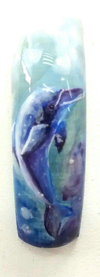 Micro dibujo delfín