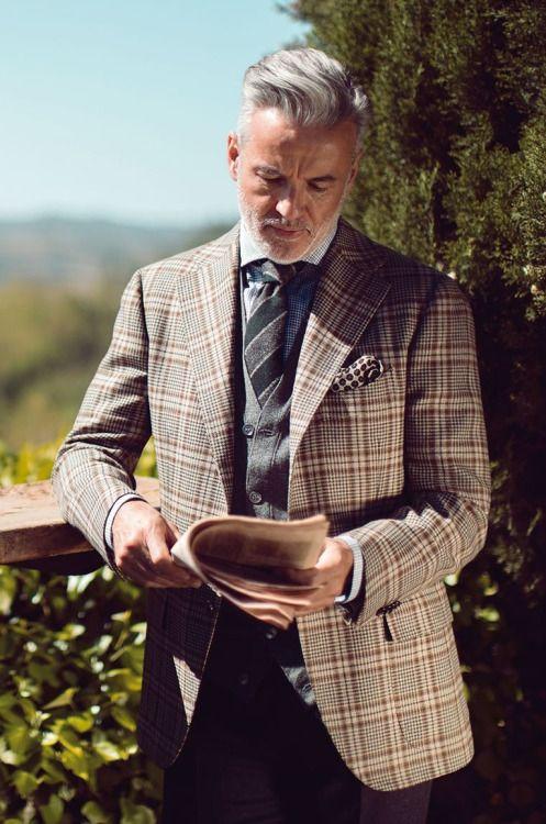 Elegant Gentleman Stripes and Checks - Cesare Attolini - F/W 2016-2017