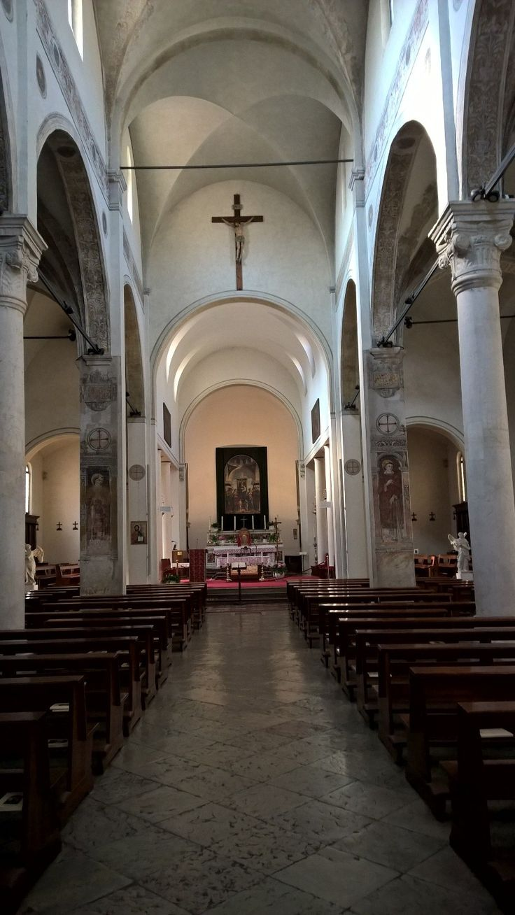 The Church of Conegliano with the famous altarpiece by Cima.