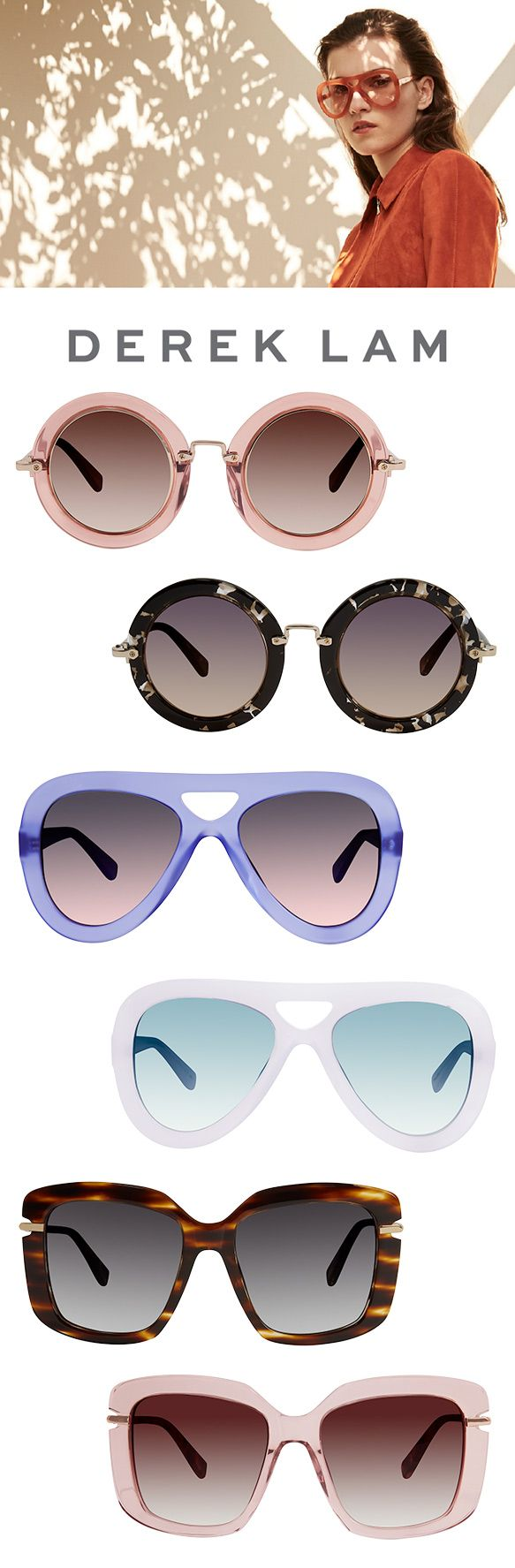 Derek Lam is back this season with what we're sure will become your ultimate sunnies for the warmer months ahead! The naturally refined brand is paying homage to 1970s influences while adding moder…
