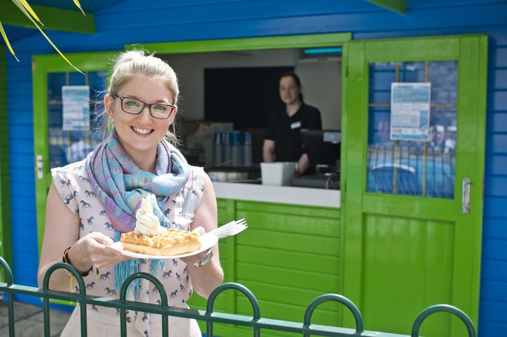 Visit our poolside Crepes and Waffles shack this summer!