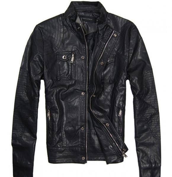 Мужская куртка кожанная mexx