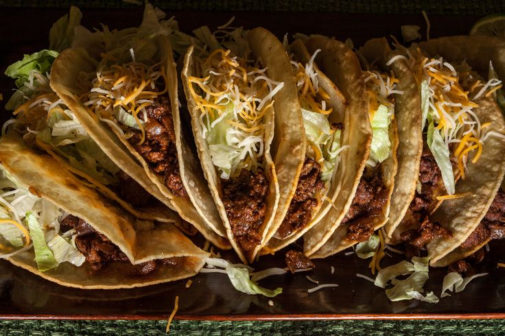 This easy beef taco recipe yields crisp and chewy corn tortilla taco shells, with a ground beef filling that has lots of flavor.
