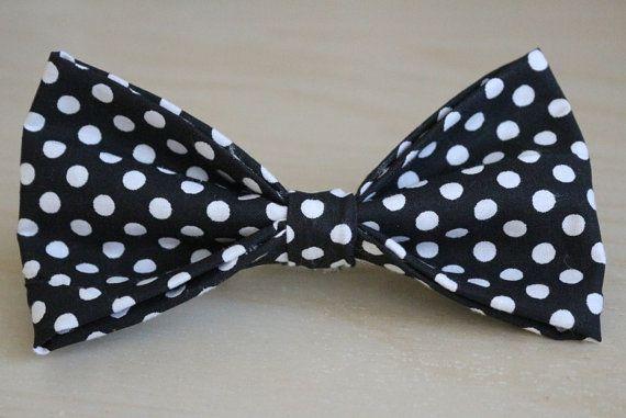 Handmade Polka Dot Hair Bow!
