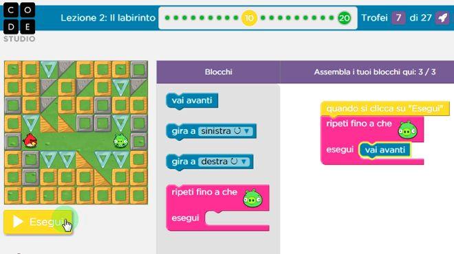 Programma il Futuro - Code.org - ProgrammaIlFuturo.it