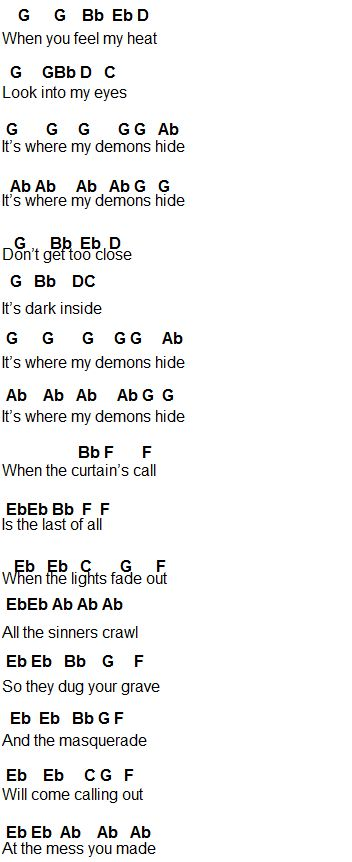 Flute Sheet Music: Search results for Demons