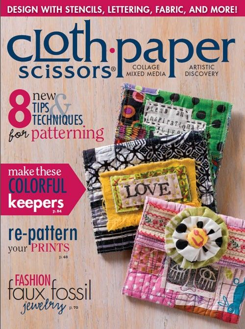 Cloth Paper Scissors January/February 2015 Digital Edition
