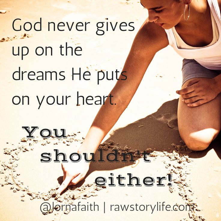 Don't quit even though things look difficult. Believe♥