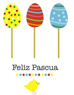Easter. Tarjetas de Pascua gratis: http://dibujos-para-colorear.euroresidentes.com/2013/03/tarjetas-de-pascua-para-imprimir.html