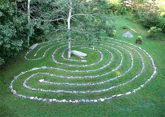 Labyrinth Designs Garden chelsea octagonal design labyrinthcompanycom Find This Pin And More On Backyard Labyrinth Designs