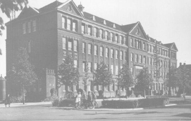 HTS aan de Oranjelaan 1935