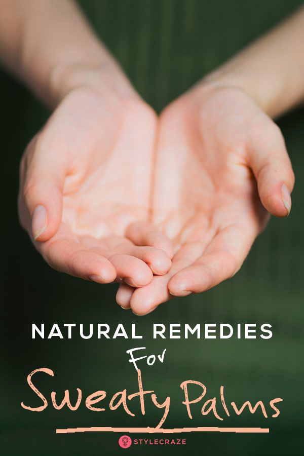 5 Great #Natural #Remedies For Sweaty Palms