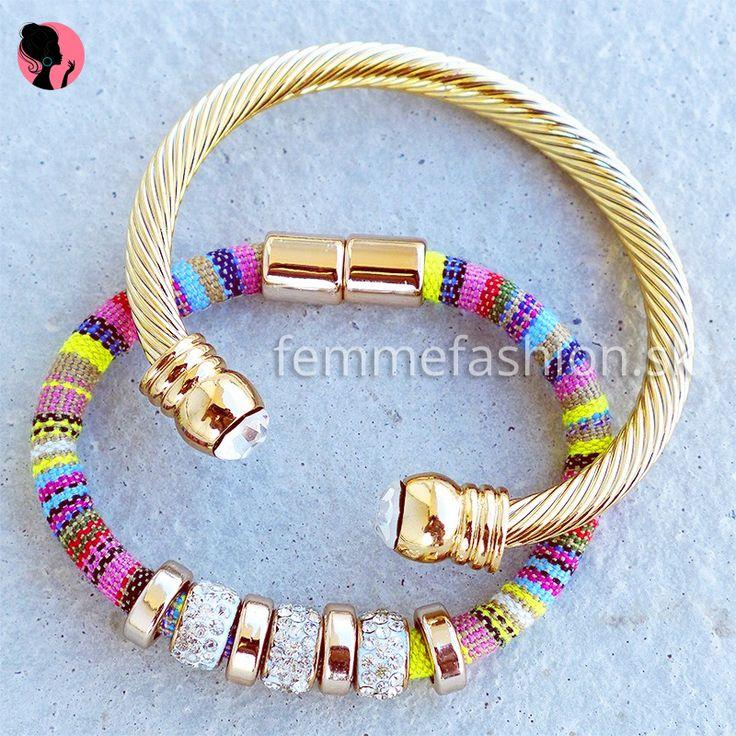 Set Náramkov  #bracelet #bracelets #accessories #jewelry #bijouterie #bizuteria #naramok #dnesnosim #setofbracelets #setnaramkov  http://femmefashion.sk/sety/2545-set-naramkov-.html