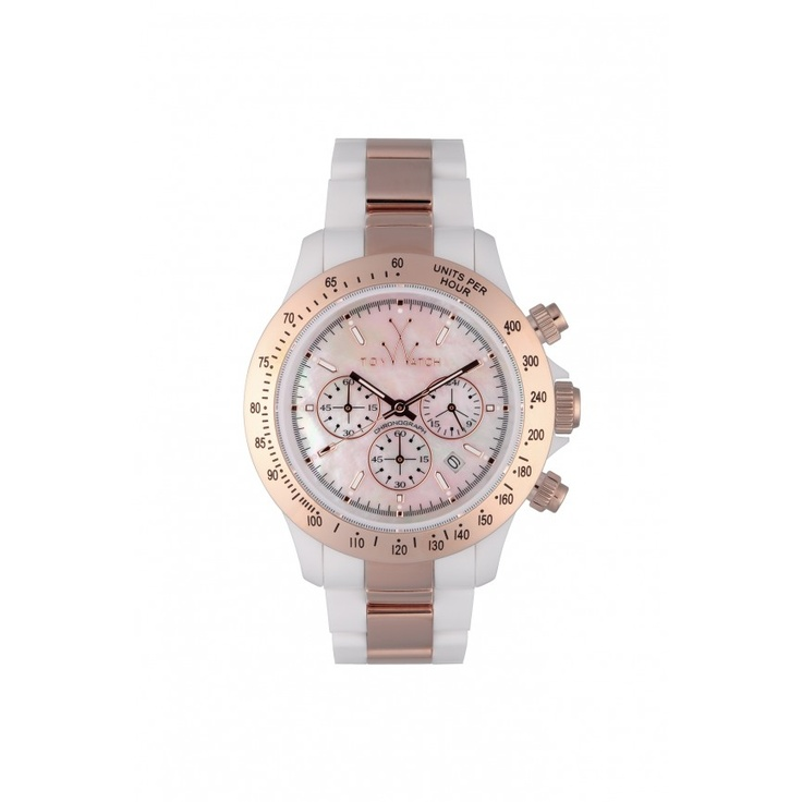 HEAVY METAL WHITE AND PINK GOLD - Heavy Metal - ToyWatch Shop