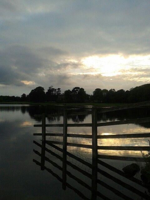 Sunset in Otley