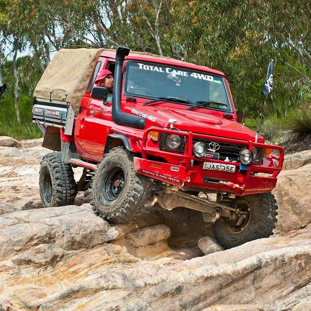Toyota Land Cruiser 75' Series - I vote that we bring these to The US.
