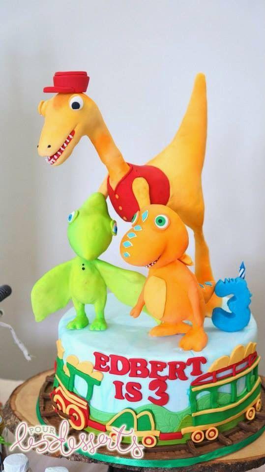 dinosaur train party cake