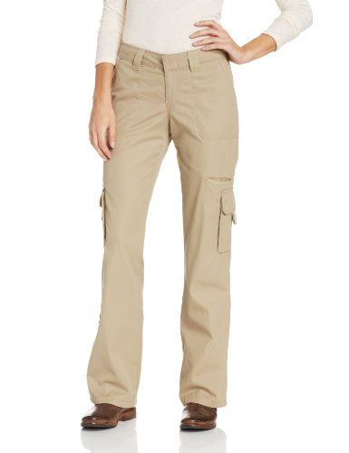 Special Offer: $27.99 amazon.com Dickies misses relaxed fit straight leg cargo pant with bellowed cargo pockets with hook and loop closure, multi-use side pocket, and back flap pockets with snap closure. 100-percent cotton, peached and garment washed for softness.Relaxed fit straight leg...