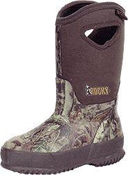 ROCKY BRANDS WHOLESALE LLC Adolescent Core Rubber Boot 400g M.O.Infinity Size 4, PR