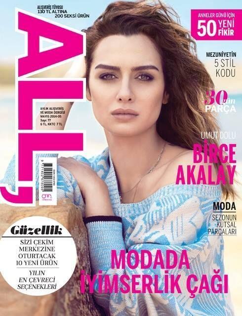 Birce Akalay - All Magazine Cover [Turkey] (May 2014)