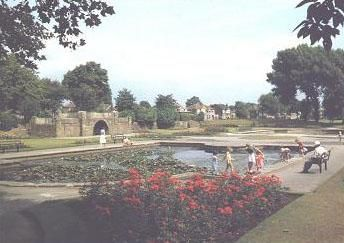 Davyhulme Park. In all its original glory. Year: 1960