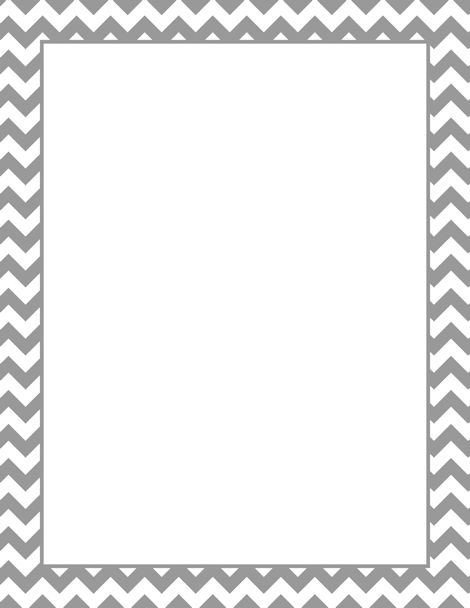 Printable gray chevron border. Free GIF, JPG, PDF, and PNG downloads at http://pageborders.org/download/gray-chevron-border/. EPS and AI versions are also available.