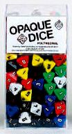 8-Sided Opaque Dice (d8) - Set of 200