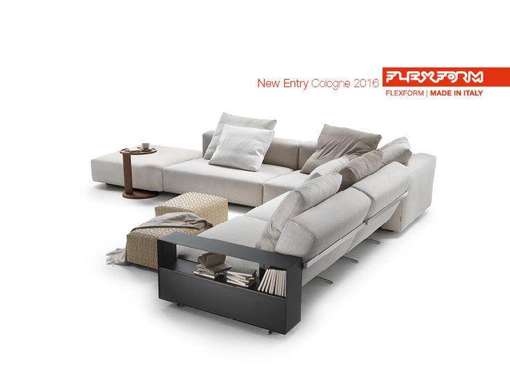 FLEXFORM NEW LARIO #sofa designed by Antonio Citterio. Find out more on www.flexform.it
