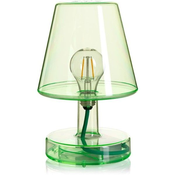 Fatboy Transloetje Table Lamp Green 125 Liked On Polyvore Featuring Home Lighting Table Lamps Decor Green Colored Light Green Lamp Lamp Table Lamp