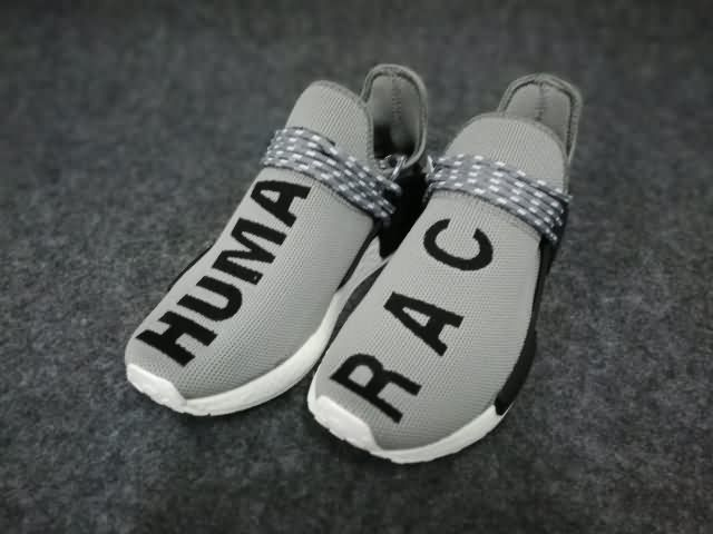 c81b9f24648a4 Adidas Human Race NMD Unisex Gray Black shoes