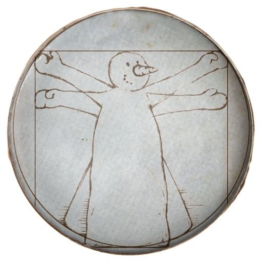 "Vitruvian Snowman :- Leonardo Da Vinci's ""Vetruvian Man"" was created around 1487. It is now kept in the Accademia di Belle Arti in Venice, Italy. This is a version on a chocolate dipped Oreo cookie showing snowman's dimensions which also works out as a diagram on how to create snow angels.  #vetruvianman #leonardodavinci #leonardo #snowman #winter #holiday #holidays #snow #snowmen #christmas #xmas #festive #seasonal #yuletide #december #fun #silly #masters #painting #art #renaissance"