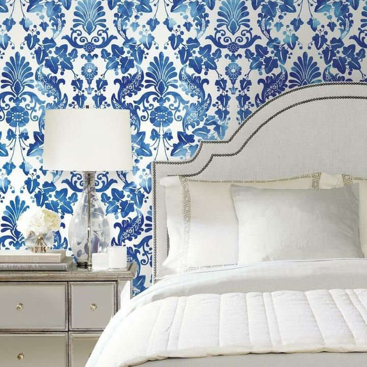 Vine Damask Peel And Stick Wallpaper Peel And Stick Wallpaper Black And Grey Wallpaper Room Visualizer