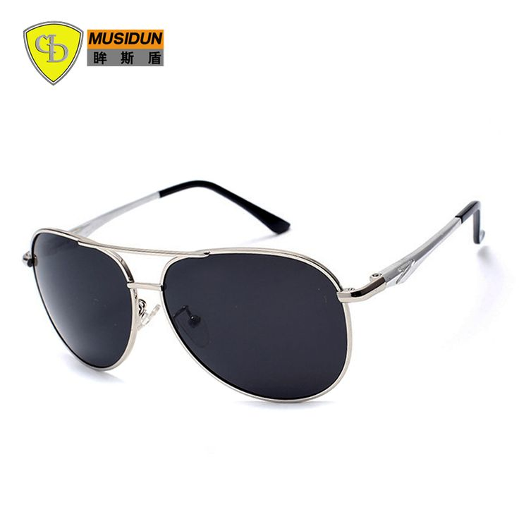 Hot selling New Fashion Brand Polarized Sunglasses Men sunglasses sun glasses UV400 lens with bule film Free Shipping