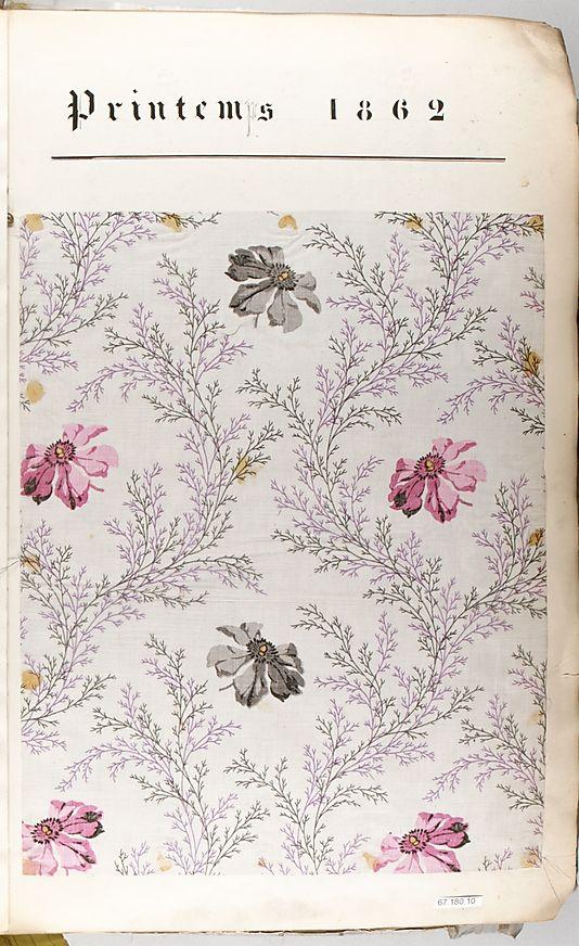 Textile Sample Book (spring 1862)