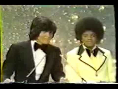 Michael Jackson and Donny Osmond at the inaugural American Music Awards.Donny was my first ever crush big time.Please check out my website thanks. www.photopix.co.nz