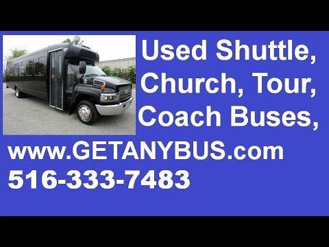 Used Passenger Shuttle Bus For Sale by NY Dealership   Call CHARLIE @ 516-333-7483   2005 Chevrolet C5500 25 Passenger Shuttle Bus For Sale