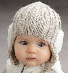 Вязать детскую шапочку новорожденному
