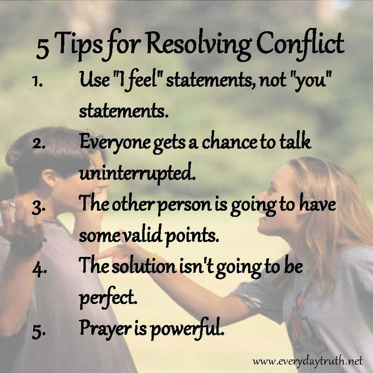5 Tips for Helping Kids Resolve Conflict (good reminder for adults too!)