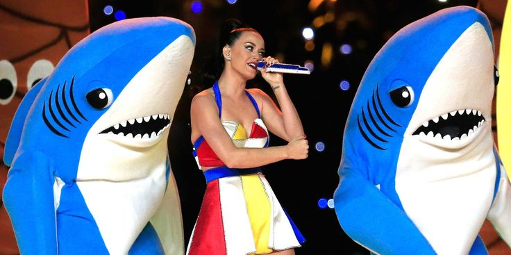 Everybody is talking about Katy Perry's dancing Super Bowl shark