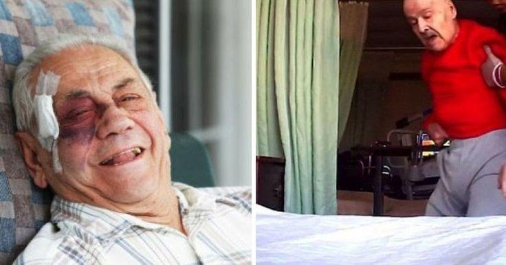 "Hidden Camera Footage Reveals Elderly Man Suffering ""Horrific"" Abuse At Nursing Home"