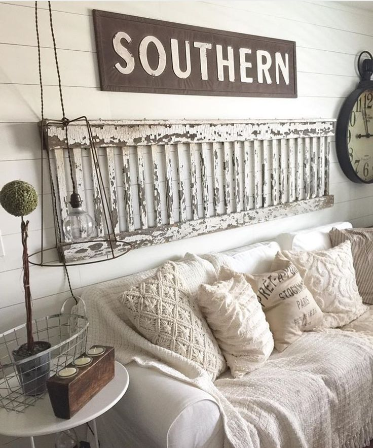 """I love this """"Southern"""" sign by Park Hill Collection."""