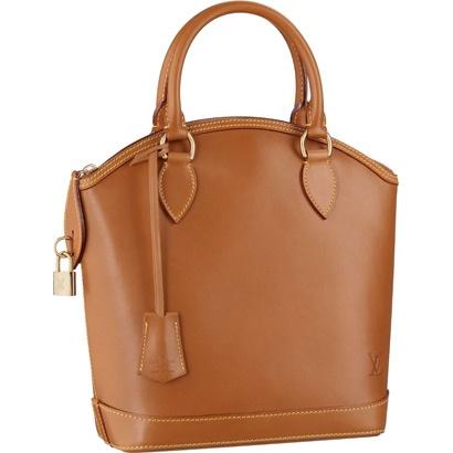 Louis Vuitton Bags M85388 Nomade Leather Lockit Caramel Cheap Sale