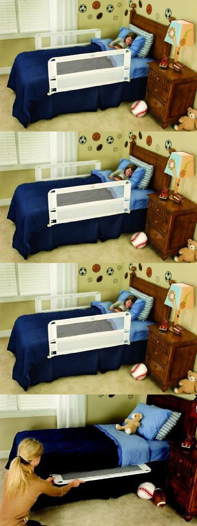 Bed Rails 162183 Regalo Hide Away Double Sided Rail White BUY