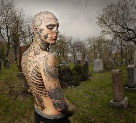 Macabre Artist | They're about the human body as a decomposing corpse – the art of ...