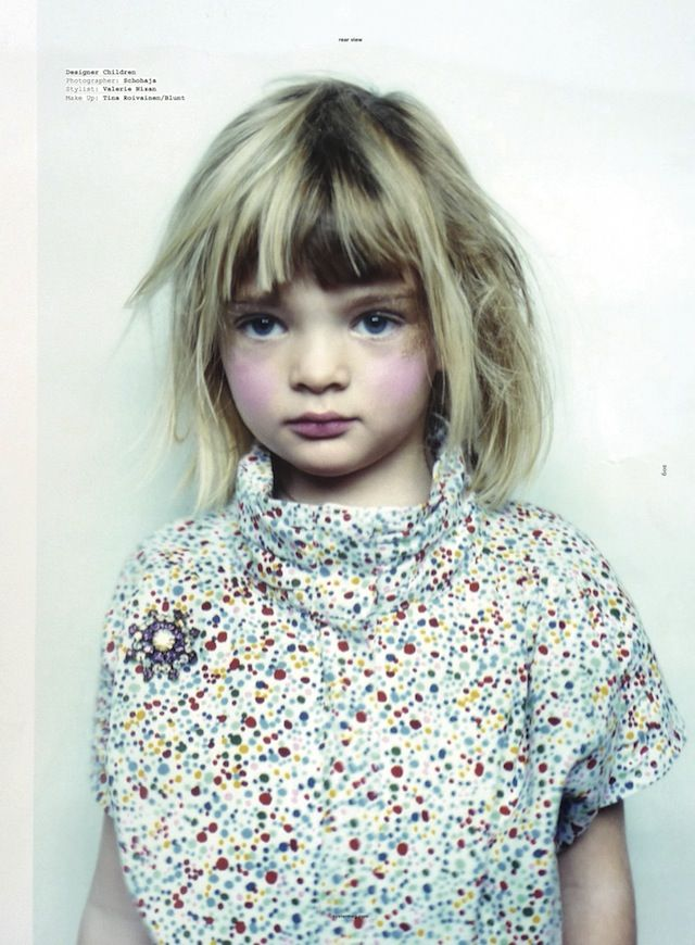 oystermag: Blondes Boys, Polka Dots, Kids Style, Pearls, Oysters Child, Oysters Magazines, Hair Style, Boys Sisters, Kidsfashion