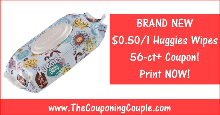 HOT NEW Huggies Wipes Printable Coupon ~ PRINT NOW while you still can! Click the Picture below to get all of the details including a Mobile Friendly Direct Link ► http://www.thecouponingcouple.com/huggies-wipes-printable-coupon-2/  Use the SHARE button below the Picture to SHARE this Deal with your Family and Friends!  #Coupons #Couponing #CouponCommunity  Visit us at http://www.thecouponingcouple.com for more great posts!