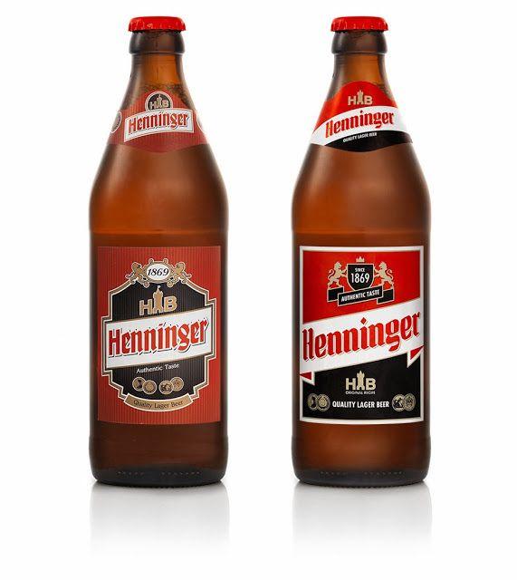 label / Henninger (Redesigned) beer