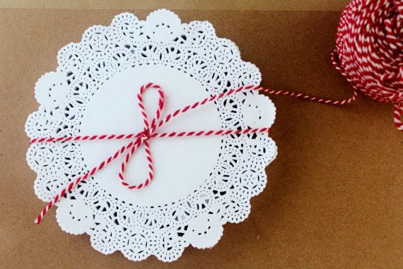 Paper Doilies 5.5  Set of 30 by mooseart on Etsy