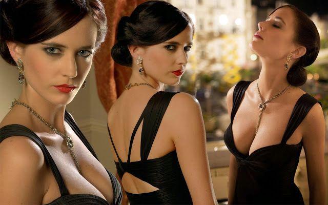 #star 에바 그린 (Eva Green) - 퇴폐적 섹시미가 절정이지만 청순함과 우아함도 있다!